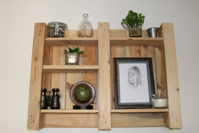 Pallet Shelf Plan for Kitchen