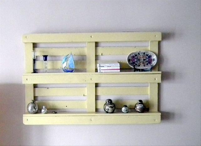 Pallet Shelf Ideas For Kitchen Pallet Ideas