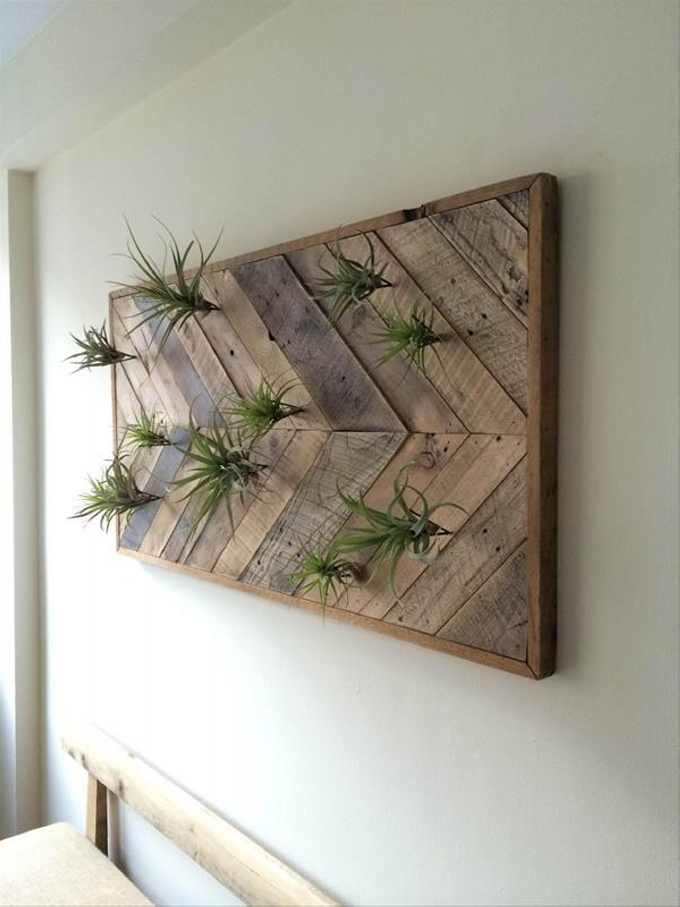 Pallet wall art ideas pallet ideas recycled upcycled Wall art ideas
