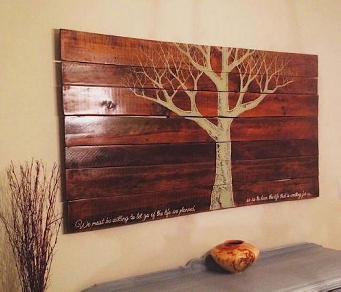 Pallet Wall Art Ideas | Pallet Ideas