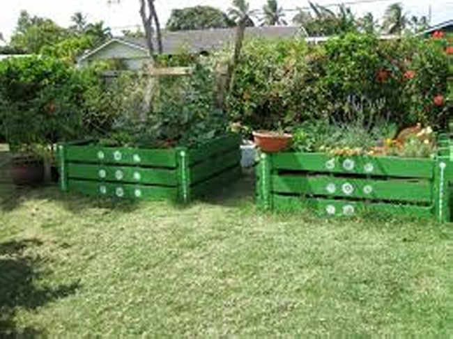 Pallets Garden Decor