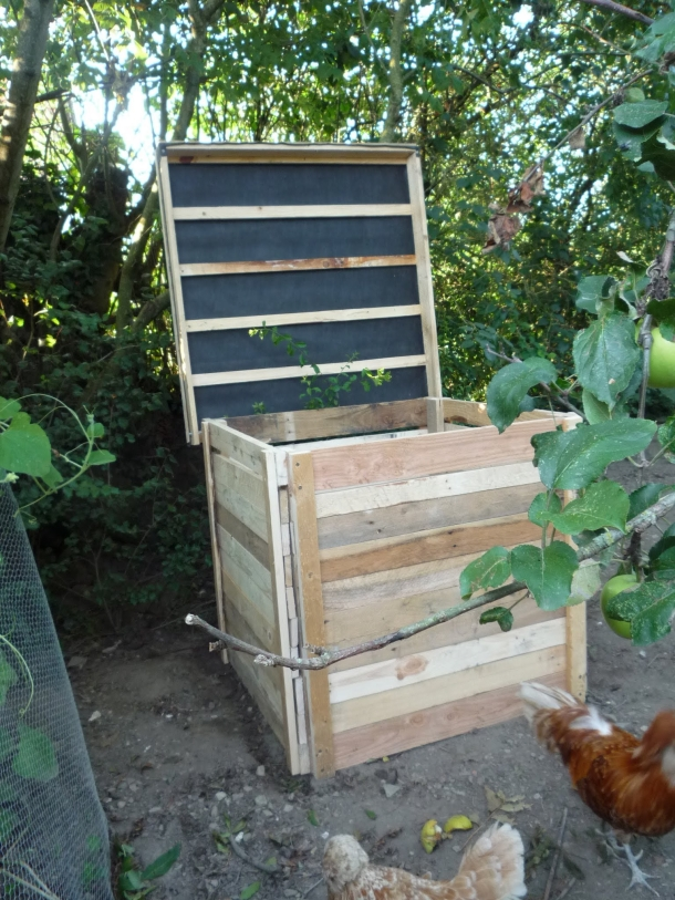 Pallet Compost Bin Ideas Ideas Recycled