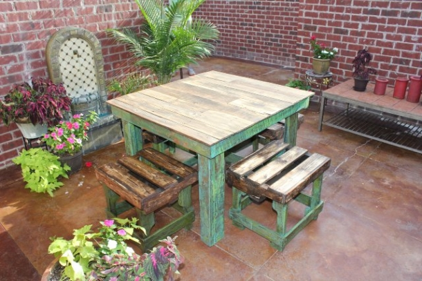 ideas for recycled pallet stools pallet ideas recycled upcycled pallets furniture projects. Black Bedroom Furniture Sets. Home Design Ideas