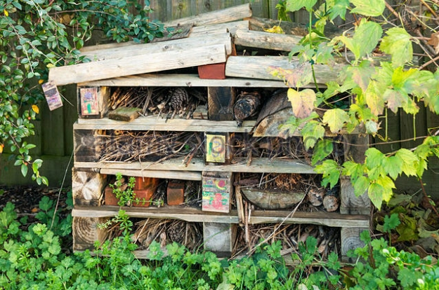 Pallet Made Bugs Insects Houses Pallet Ideas