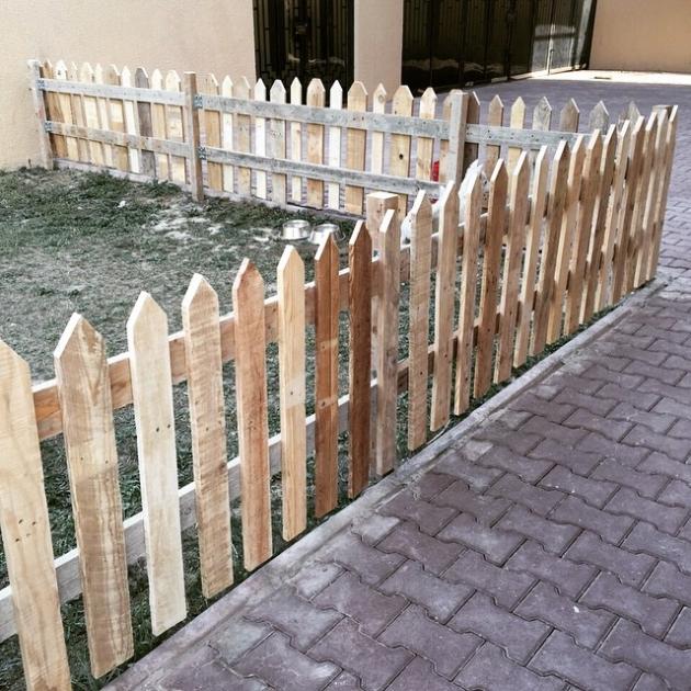 Pallet Picket Fence Ideas | Pallet Ideas