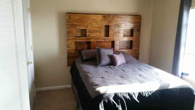Wooden Bed Frame Rustic