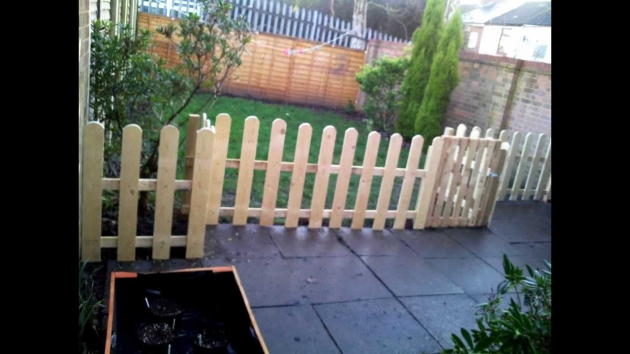 Pallet Picket Fence Ideas Pallet Ideas