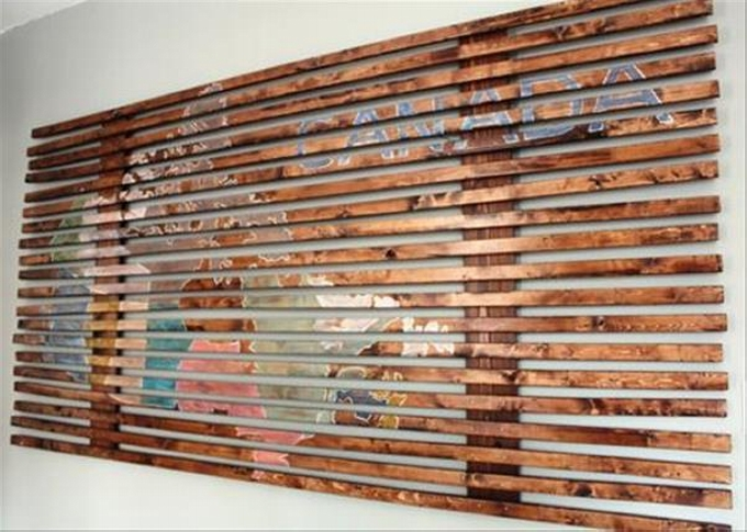 Pallet Wall Art Ideas Ideas Recycled Upcycled Pallets