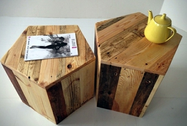 pallet bedside table idea