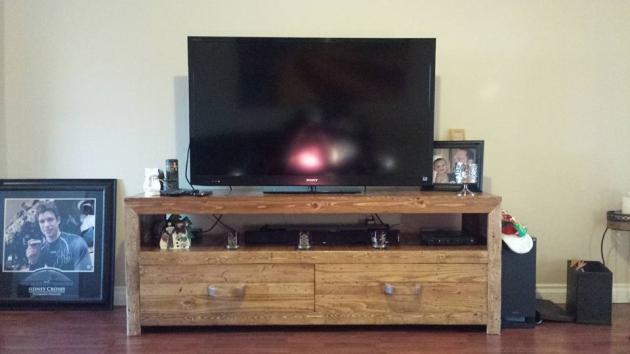 pallet cabinet for tv
