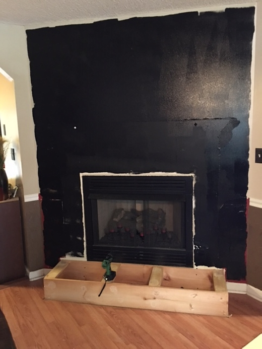 Diy Pallet Wall Fireplace Pallet Ideas