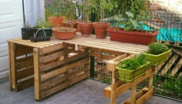 Garden Ideas with Pallets