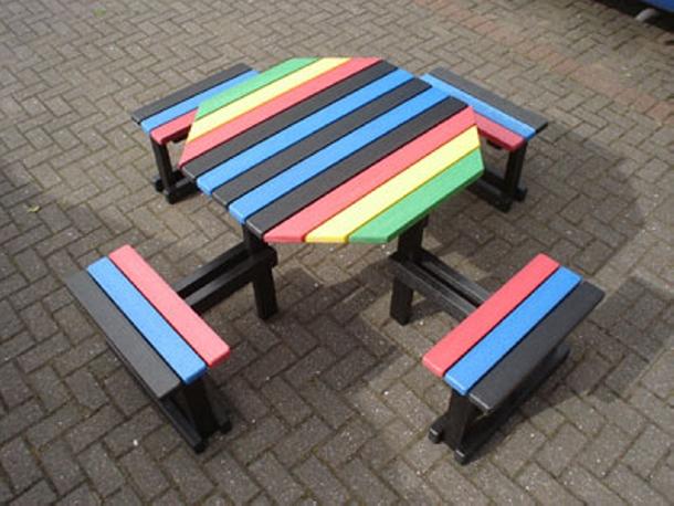 Pallet Kids School Furniture Ideas