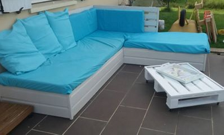 Pallet Patio Couch pallet outdoor couch and daybed | pallet ideas: recycled