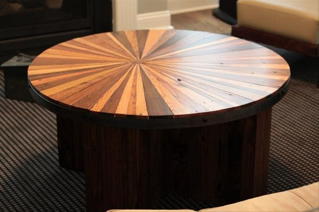 Starburst Round Coffee Table