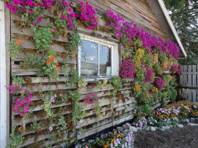pallet wall planter ideas pallet ideas recycled