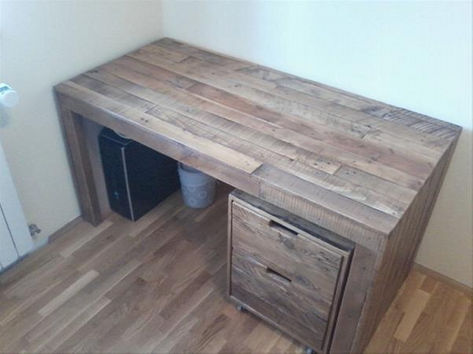 Pallet Desk Ideas Pallet Ideas