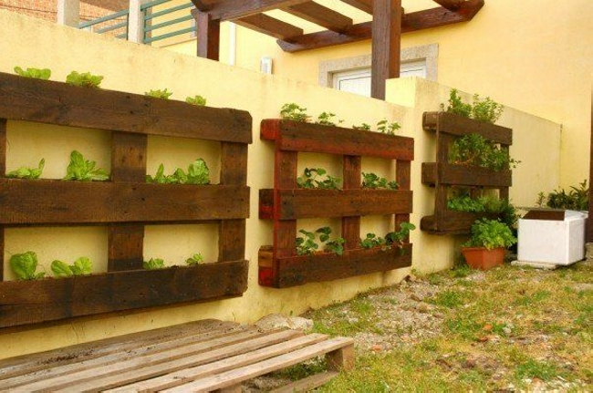 Pallet Wall Planter Ideas | Pallet Ideas: Recycled / Upcycled ...