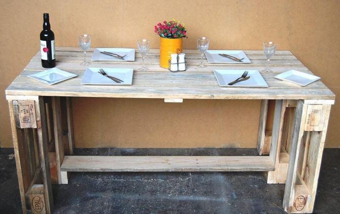 Pallet Desk Ideas Pallet Ideas Recycled Upcycled