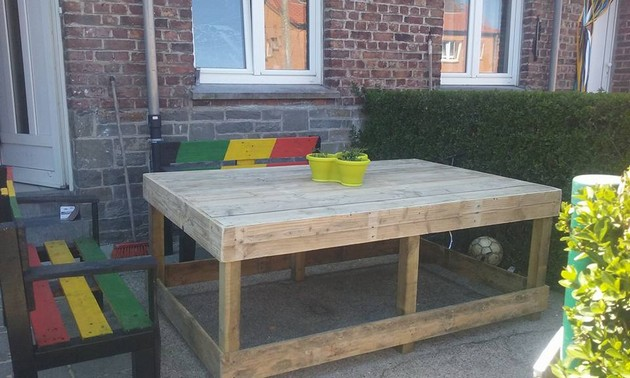 Pallet Lounge Furniture Idea