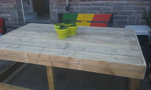 Pallet Lounge Table