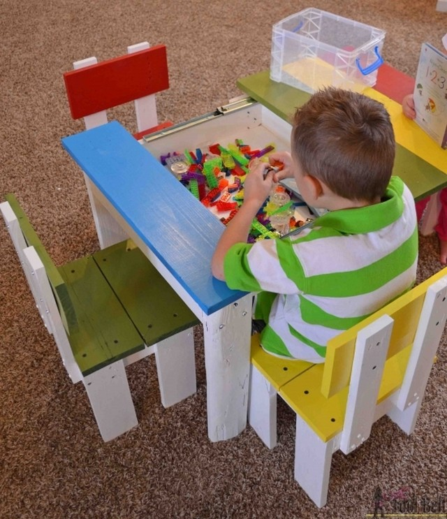 Rescued Pallet Kids Furniture Pallet Ideas