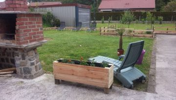 DIY Pallet Planter / Garden Ideas