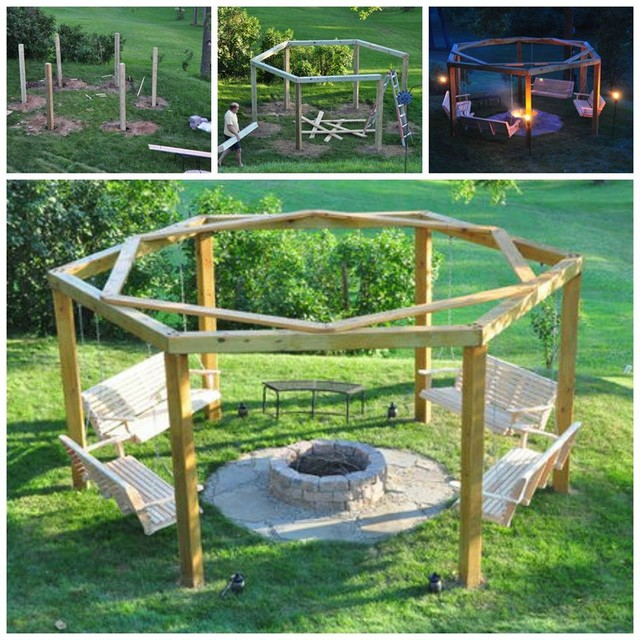 Wooden pallet creation ideas pallet ideas recycled for Building a wooden swing