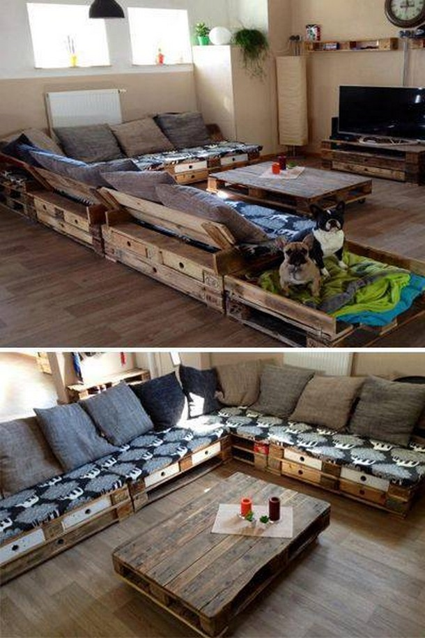 stimulating wooden pallet ideas pallet ideas recycled upcycled pallets furniture projects. Black Bedroom Furniture Sets. Home Design Ideas