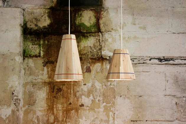 pallet made lamps
