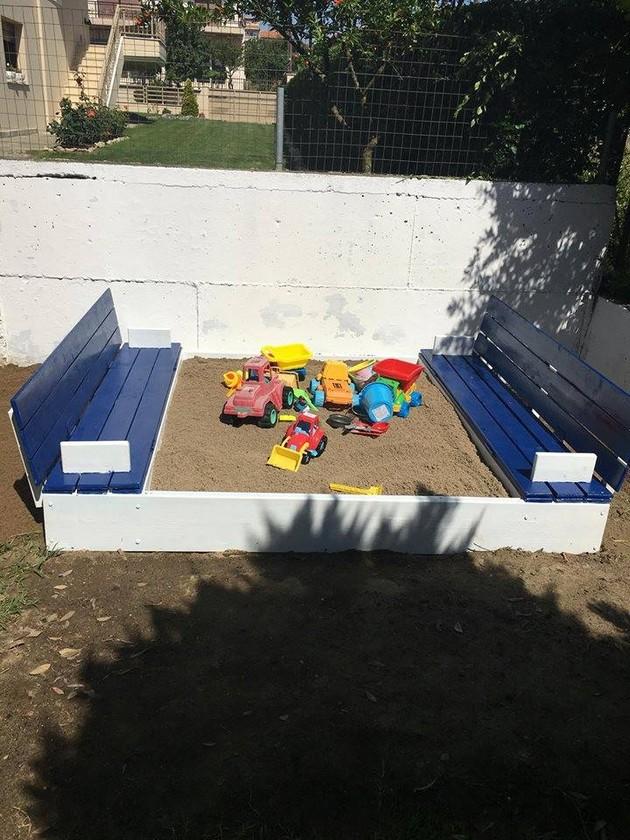 pallets sandbox