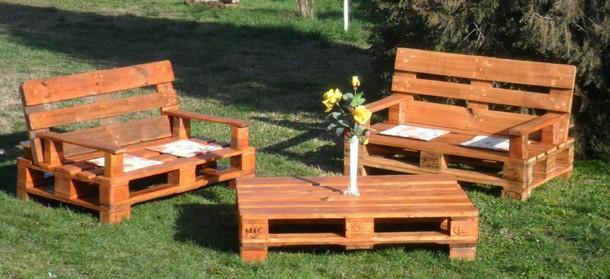 pallet furniture garden. Patio Garden Pallet Furniture -