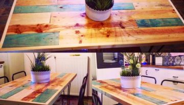 Recycle Art with Pallet Wood
