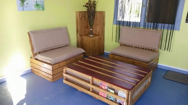Stimulating wooden pallet ideas pallet ideas recycled - Fabriquer un meuble tv en palette ...
