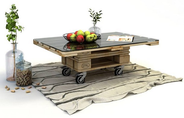 wood pallet table idea