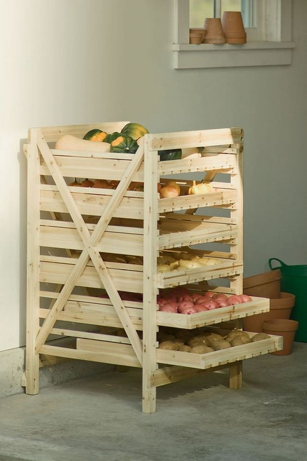 Storage Ideas with Wood Pallets | Pallet Ideas: Recycled ...