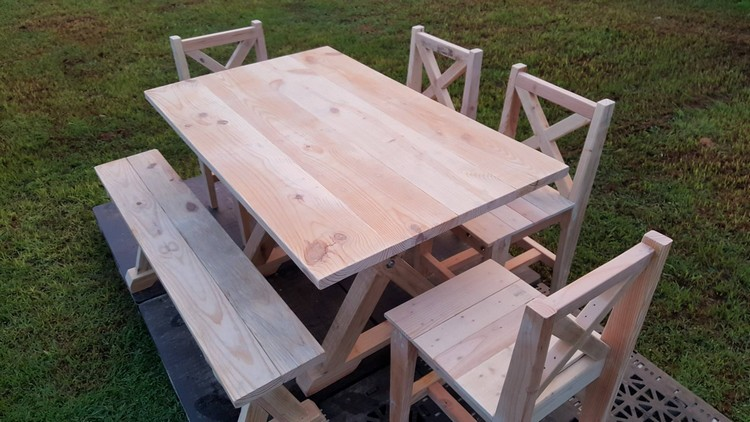 Patio Furniture Out Of Wood Pallets Stunning Rustic