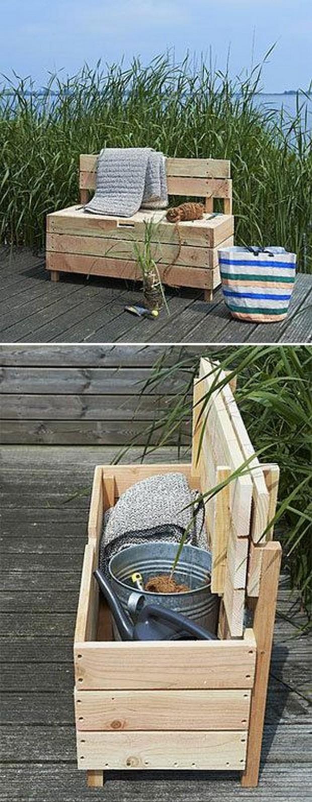 Storage Ideas with Wood Pallets | Pallet Ideas