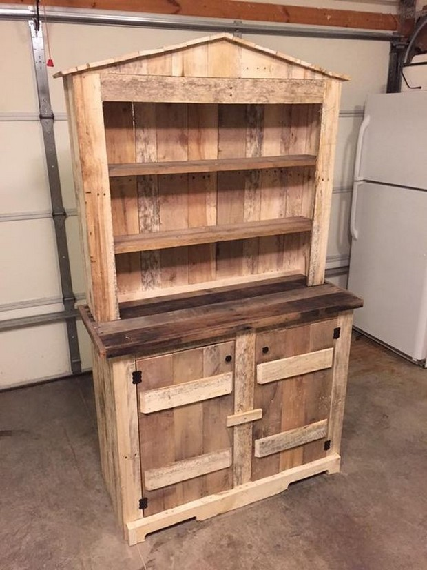 Storage Ideas With Wood Pallets Pallet Ideas