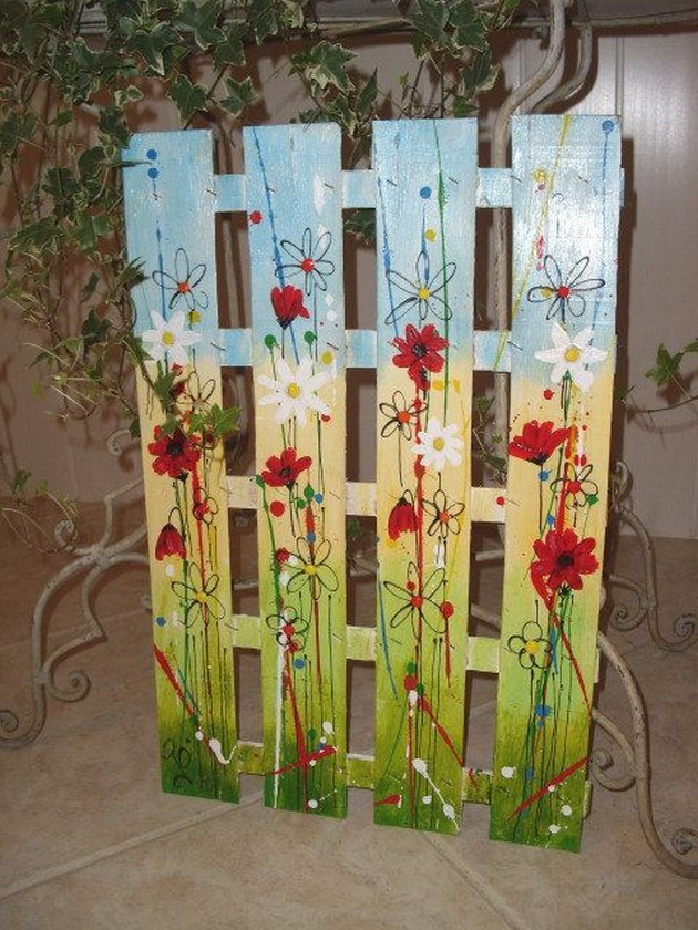 Decor Craft Ideas With Wooden Pallets Pallet