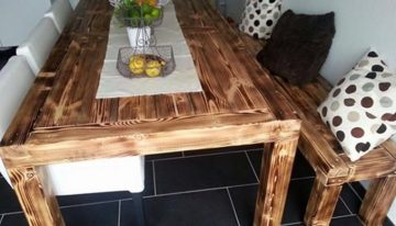 Pallet Dinning Table Idea