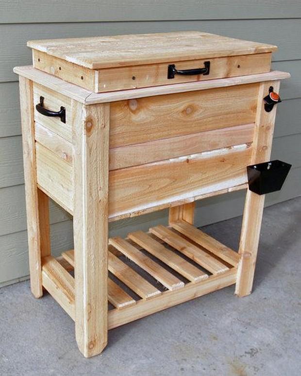 Diy Wooden Cooler Box Plans