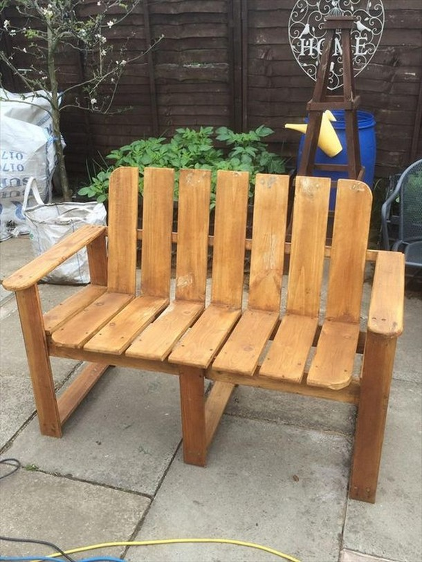 20 ideas for pallet patio furniture pallet ideas for Cool ideas for wooden pallets