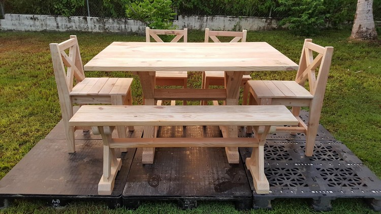 Garden Furniture Out of Wood Pallets Pallet Ideas  : patio pallet furniture from www.palletsideas.com size 750 x 422 jpeg 116kB