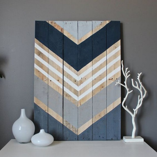 Diy Wall Decor Wood : Very simple ideas to reuse wood pallets pallet