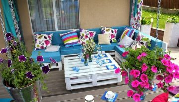 Lounge Furniture Ideas Out of Pallet