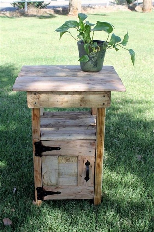 Pallet wood ideas for garden recycled