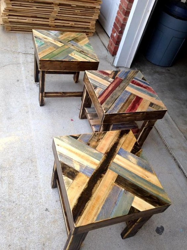 20 repurposed pallet wood ideas pallet ideas recycled for Repurposed pallet projects
