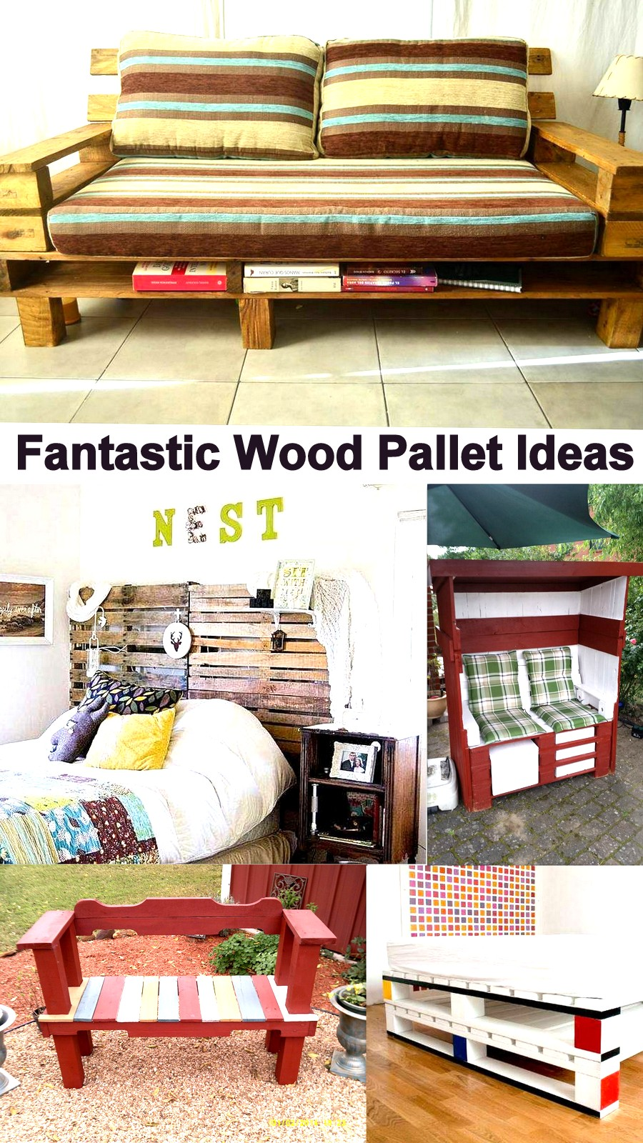 Fantastic Wood Pallet Ideas