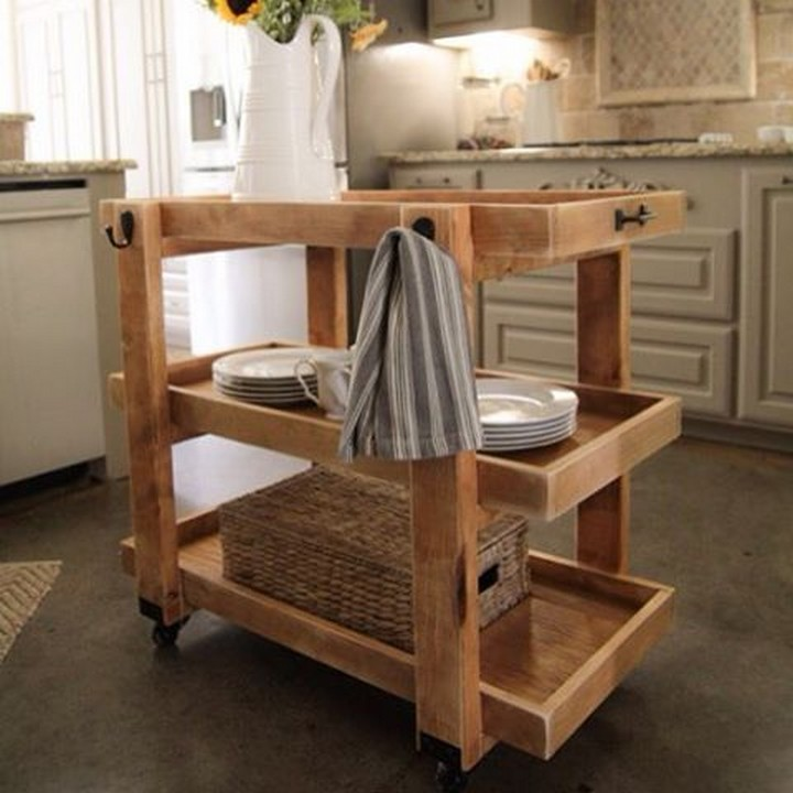 pallet Organizer for kitchen